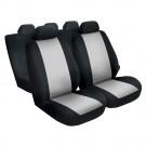 Huse auto pentru scaun, Carmax, gri, set 9 bucati