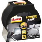 Banda adeziva, pentru reparatii, din polietilena si panza, negru, Moment Power Tape, 4.8 cm x 10 m
