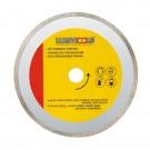 Disc diamantat, continuu, pentru debitare placi ceramice / marmura / sticla / piatra, Lumytools LT08732, 125 x 22 x 2 mm