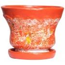 Ghiveci ceramica D15/4+suport