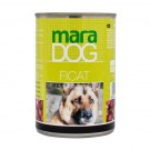 Hrana umeda pentru caini, Maradog, cu ficat 400 g