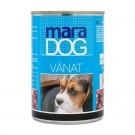 Hrana umeda pentru caini, Maradog, carne vanat 400 g