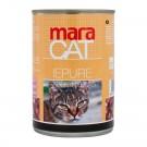 Hrana umeda pentru pisici, Maracat, carne iepure, 410 g