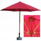 Umbrela soare, pentru terasa, Monte Carlo Economy, rotunda, structura lemn, D 300 cm/6