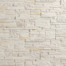 Piatra decorativa, interior / exterior, Modulo Dover Ice, alb (cutie = 0.5 mp)