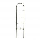Suport pentru plante Versay FS60, otel plasticat, verde, 13 x 60 cm