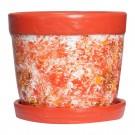 Ghiveci ceramic AC2, rotund, 16 x 14 cm