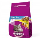 Hrana uscata pentru pisici, Whiskas Sterile, carne pui, 1,4 kg