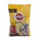 Hrana uscata pentru caini, Pedigree Vital Protection adult, carne de vita si pasare, 8.4kg