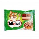 Hrana umeda pentru pisici, Kitekat Meniuri Rustice, 4 x 100 g