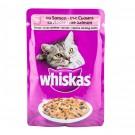 Hrana umeda pentru pisici, Whiskas, somon in sos, 100 g