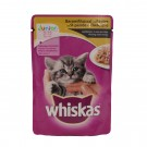 Hrana umeda pisici Whiskas junior, cu aroma pui 100 gr