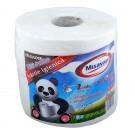 Hartie igienica Misavan Mini Jumbo, alba, 2 straturi, L 150 m, 2 buc / set