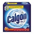 Tablete anticalcar Calgon 2 in 1 pentru masina de spalat, 12 tablete / cutie