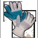 Manusi din piele spalt dublu intarite Gantex Com EM3
