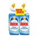 Pachet solutie pentru toaleta Duck 3 in 1 marin 2 x 750 ml