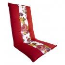 Perna sezlong Exotic, rosu, 118 x 50 x 5 cm