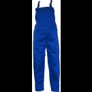 Pantalon salopeta pentru protectie, tercot, albastru, marimea 44