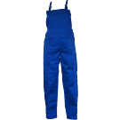 Pantalon salopeta pentru protectie, tercot, albastru, marimea 48