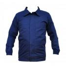 Bluza salopeta, bleumarin, buzunar frontal, marime 48