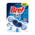 Odorizant wc baie Bref Blue Aktiv Chlorine, 50 g