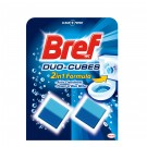 Odorizant pentru bazin wc baie Bref Aktiv Cleaning Cubes, 2 x 50 g