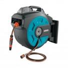 Tambur pentru furtun, Gardena Comfort 35, automat + dispozitiv perete + 35 m furtun 13 mm