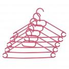 Umerase haine Napochim, polipropilena, cu carlig rotativ, 40 x 21.5 cm, color, set 5 bucati