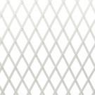 Suport pentru plante Trellis, extensibil, plastic, alb, 50 x 150 cm