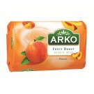 Sapun Arko Fruit Boost Peach, Strawberry, Grapefruit 90 g