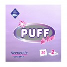Servetele de masa Puff De Luxe, lila, 2 straturi, 38 x 38 cm