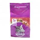 Hrana uscata pentru pisici, Whiskas, adult, carne vita, 1,4 kg