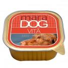 Hrana umeda pentru caini, Maradog pate, carne de vita, 300g