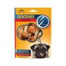 Hrana uscata pentru caini, 4 Dog goodies chicken dumbbells, carne de pui, 100g