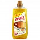Detergent pentru parchet Rivex lapte de migdale, 1.25L
