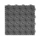 Dala pentru terasa, polipropilena, perforata, cu model, graphite grey, 1 mp/pac