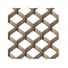 Dala pentru terasa, polipropilena, plina, fara rosturi, Top Tile cube, 2 mp/pac