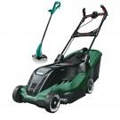 Masina de tuns iarba, electrica Bosch Advanced Rotak 750, 1700 W + trimmer cadou