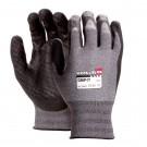 Manusi de protectie Marvel Worklife Grip, nailon + poliester + spuma nitrilica, marimea 10