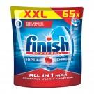 Detergent tablete pentru masina de spalat vase Finish All in 1 max, 65 tablete