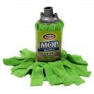 Rezerva mop microfibra Misavan, marimea M, verde
