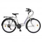 Bicicleta Velors City R2432A, 24 inch