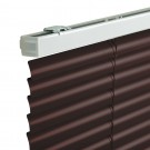 Jaluzele orizontale din aluminiu, 100 x 160 cm, maro