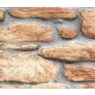 Autocolant pietre Gekkofix Rustic 10225, maro, 0.45 x 15 m