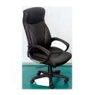 Scaun birou directorial Atlas, rotativ, imitatie piele, negru