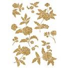 Sticker Friedola 2 buc Gold Flower 53002