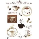 Sticker Friedola 2 buc cafe 53003