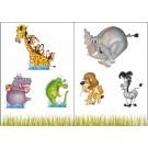 Sticker Friedola 2 buc Africa 53042