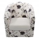 Fotoliu Tudor floral 67x68x75 cm