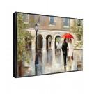Tablou decor Canbox CB00216, inramat, panza canvas + rama MDF, stil modern, 50 x 70 cm